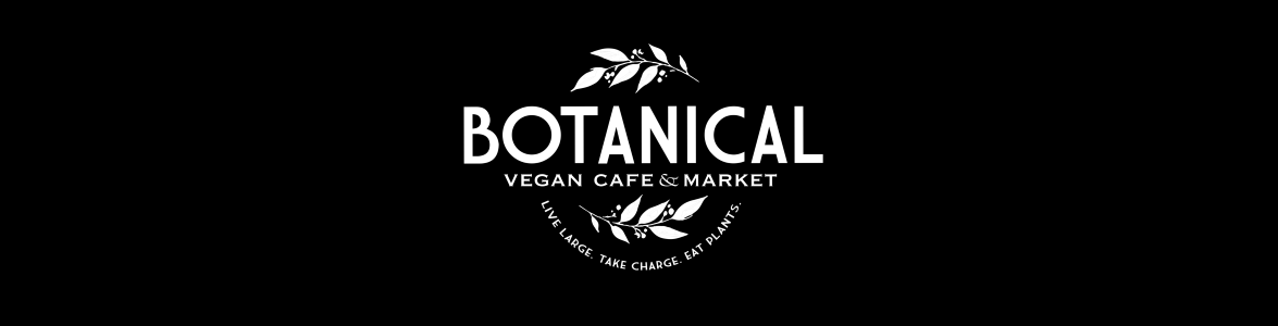 botanical vegan cafe banner