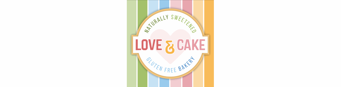 love and cake banner